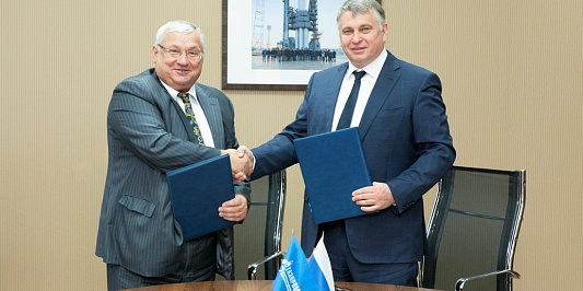 S7 SPACE AND GAZPROM SPACE SYSTEMS SIGNED COOPERATION AGREEMENT